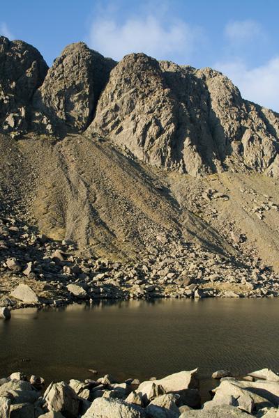 Dow Crag seen across Goat's Water