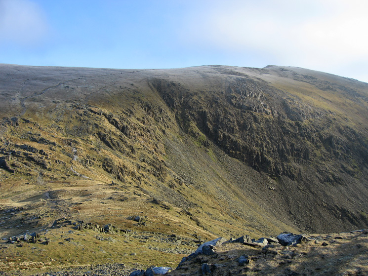 Goat's Hawes and Coniston Old Man