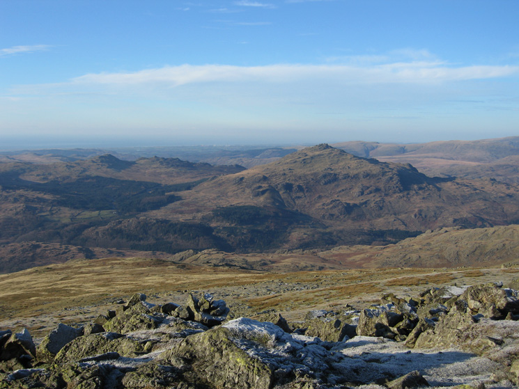 Harter Fell from Dow Crag's summit
