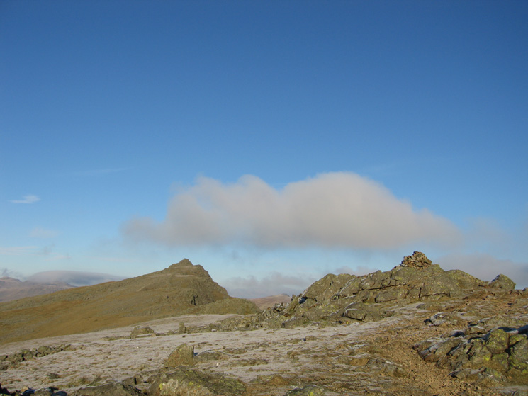 Dow Crag from Buck Pike's summit