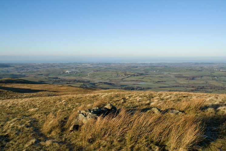 The west coast from near Fellbarrow's summit
