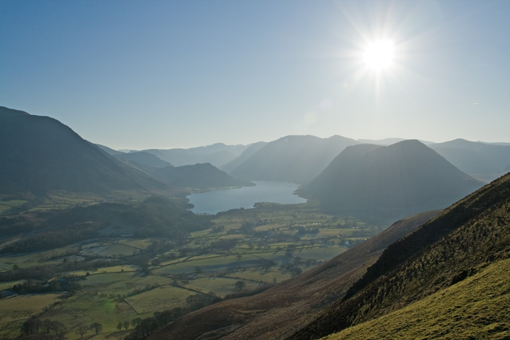 Crummock Water and the high fells