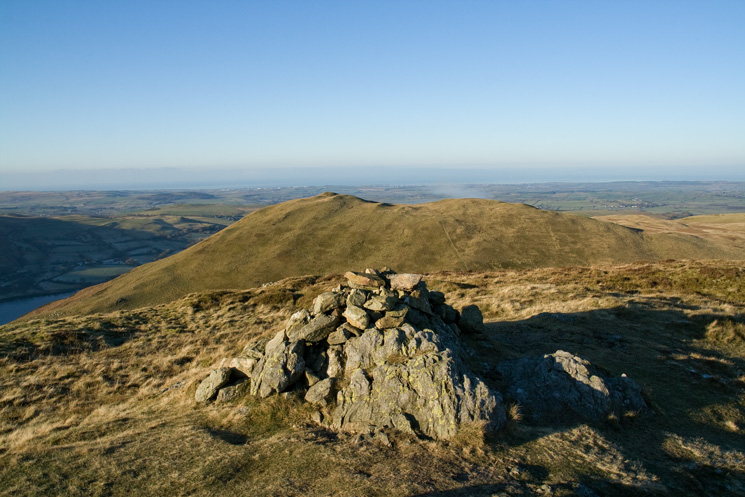 Darling Fell from Low Fell's southern top