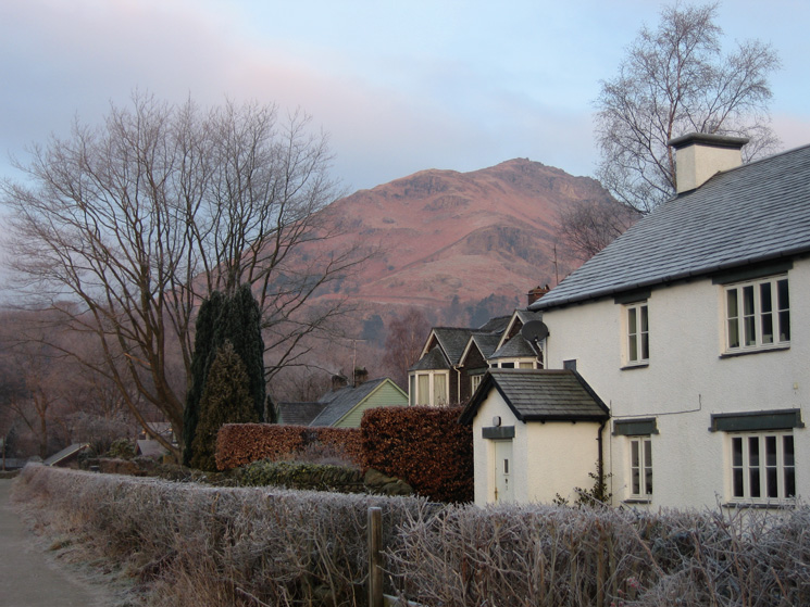 Helm Crag from the Easedale Road