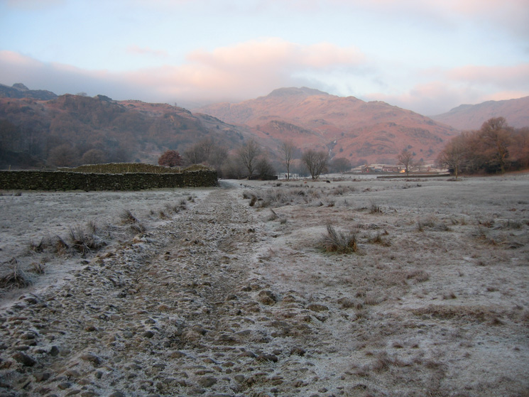 Looking towards Tarn Crag, to be our last summit of the day