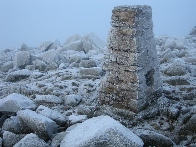 High Raise's summit trig point