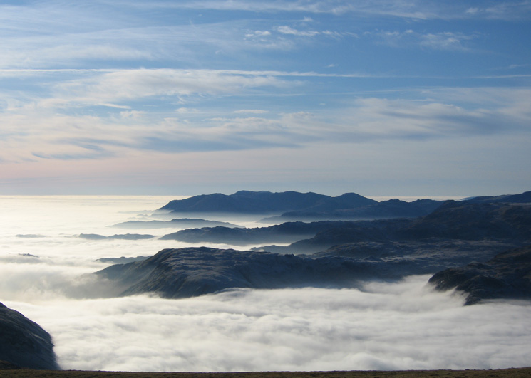 Steel Fell with the Coniston Fells behind
