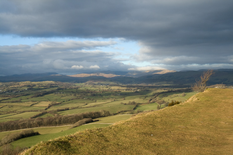 Looking towards the Kentmere fells