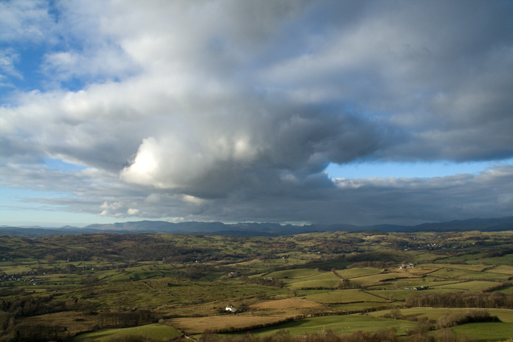 Moody skies over the Lakeland fells
