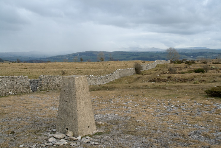 Scout Scar Trig Point, south of the shelter