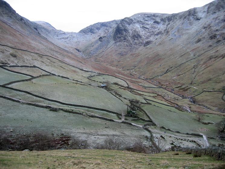 Pasture Bottom leading up to Threshthwaite Mouth