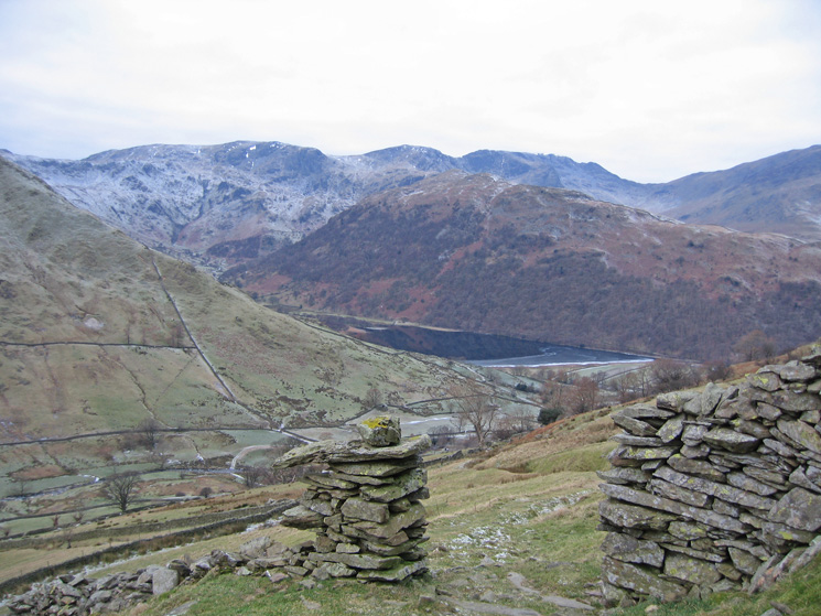 Brothers Water and Hartsop Above How from our ascent of Brock Crags