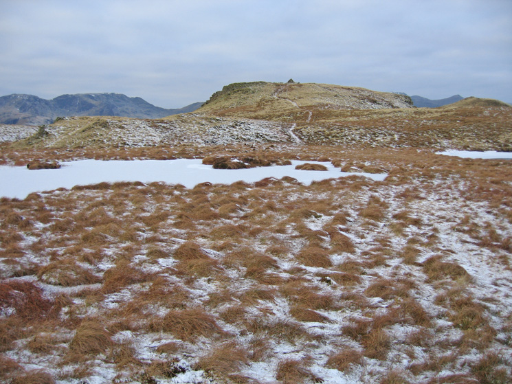 Brock Crags summit, easier to reach when the ground is frozen