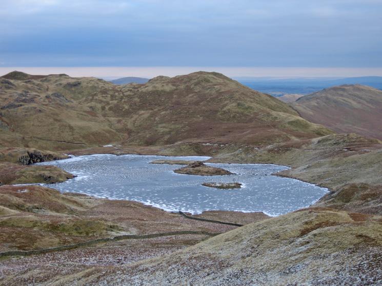 A frozen Angle Tarn