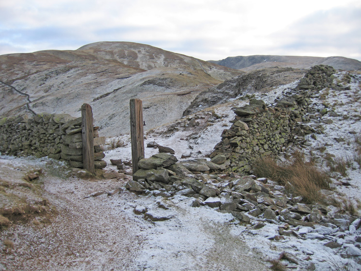 Looking towards Rest Dodd from Satura Crag
