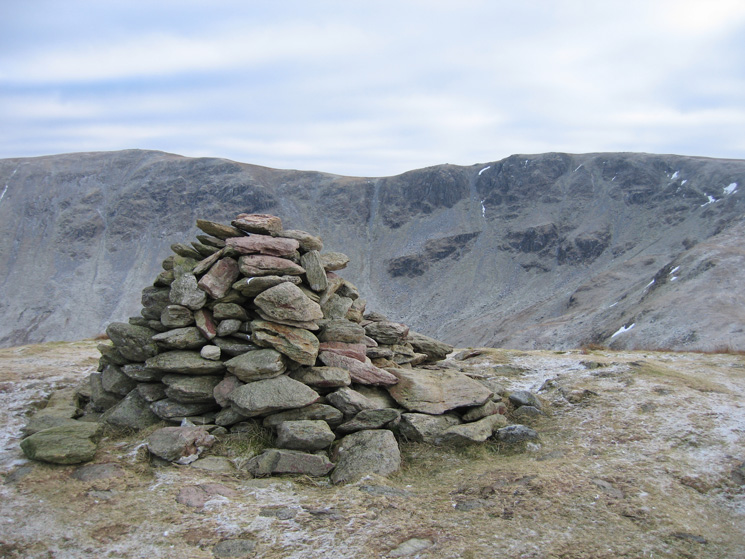 High Raise and Rampsgill Head from Rest Dodd's summit cairn