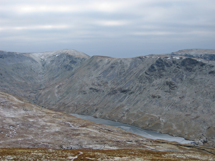 Thornthwaite Crag and Gray Crag with Hayeswater below