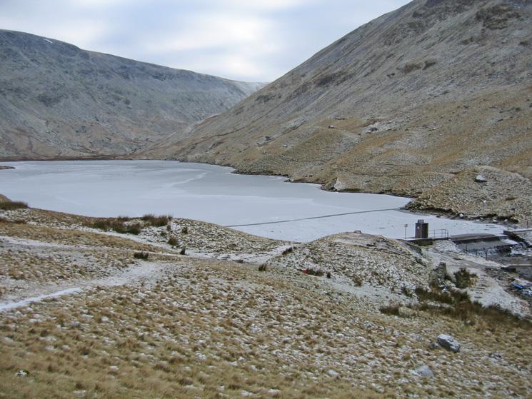 A frozen Hayeswater