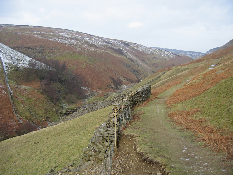 Looking up Gunnerside Gill