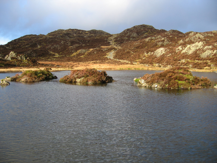 Innominate Tarn looking back to Haystacks - Happy Birthday AW