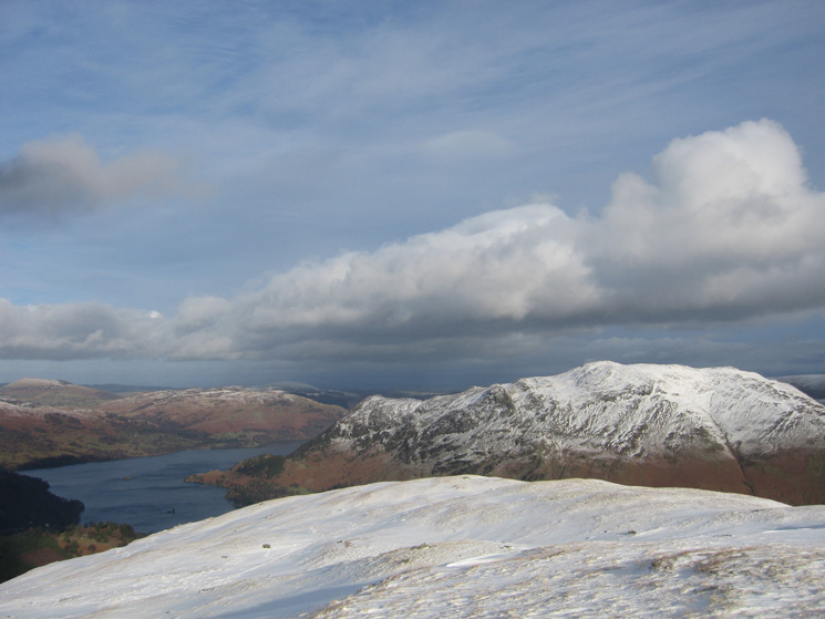 Ullswater and Place Fell from Birks