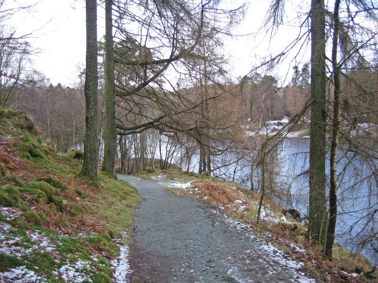The path round Tarn Hows
