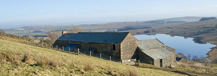 Sleddale Hall and Wet Sleddale Reservoir