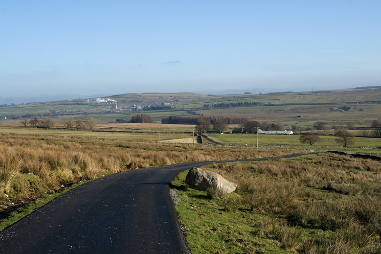 The road from Sleddale Grange