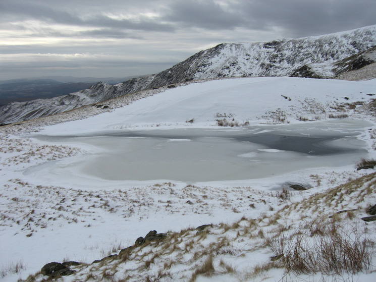 Scandale Tarn with Low Pike and High Pike behind