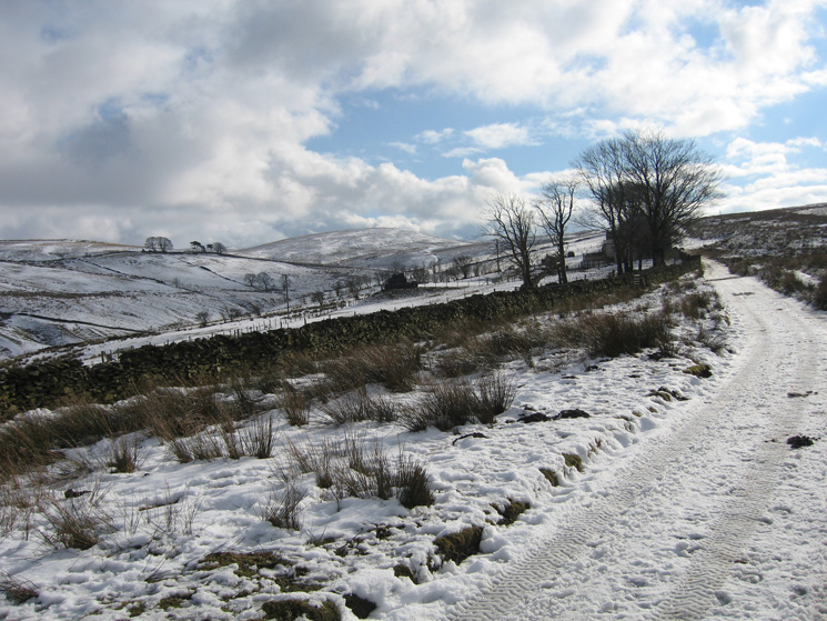 The track to Tebaygill