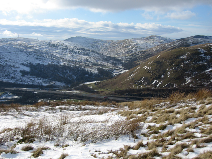 The M6 and Borrowdale (the Westmorland one)
