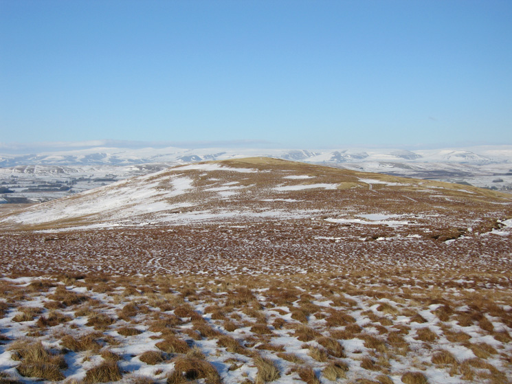 Hare Shaw from Blease Fell