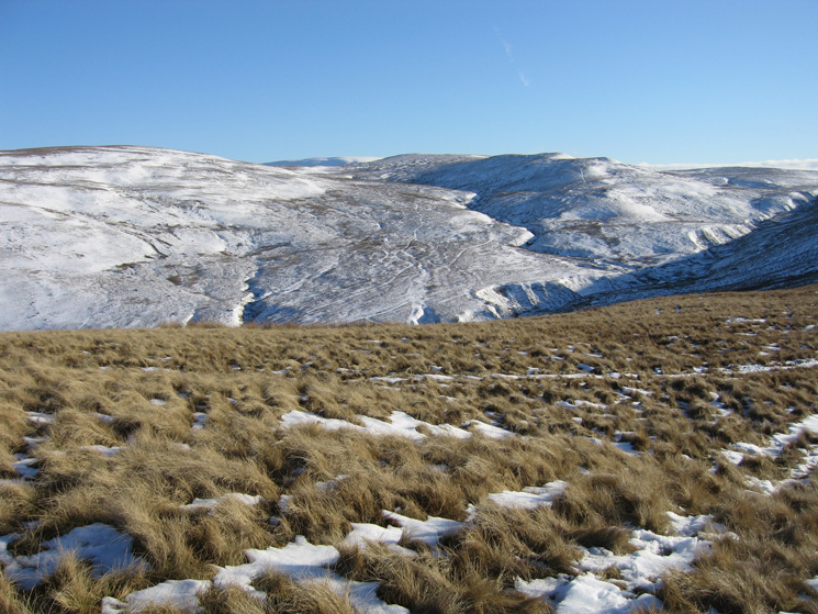 Rispa Pike (left) and Archer Hill (right) from Knott