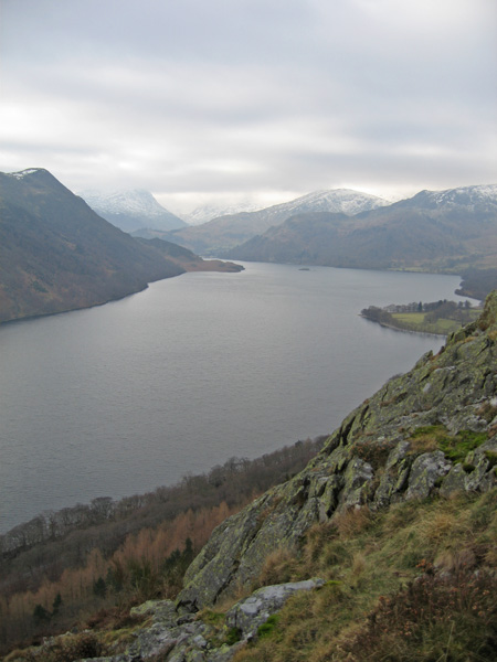 Ullswater from above Yew Crag