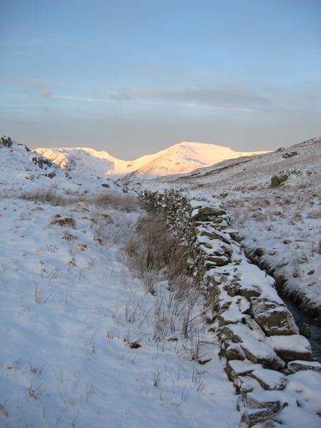 Morning light on St Sunday Crag