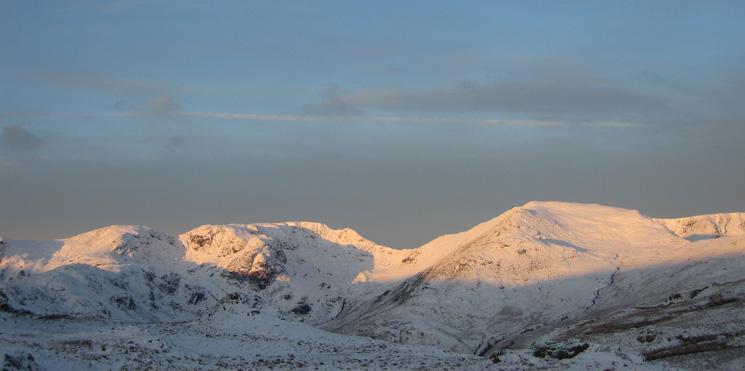 Hart Crag, Fairfield and St Sunday Crag