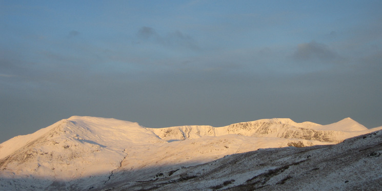 St Sunday Crag, Helvellyn and Catstycam