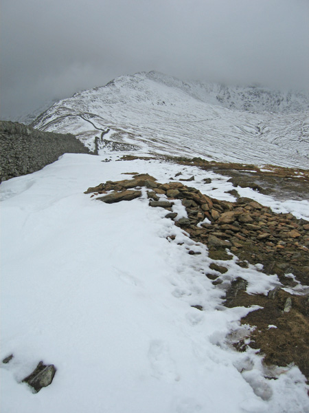High Spying How from Birkhouse Moor's summit