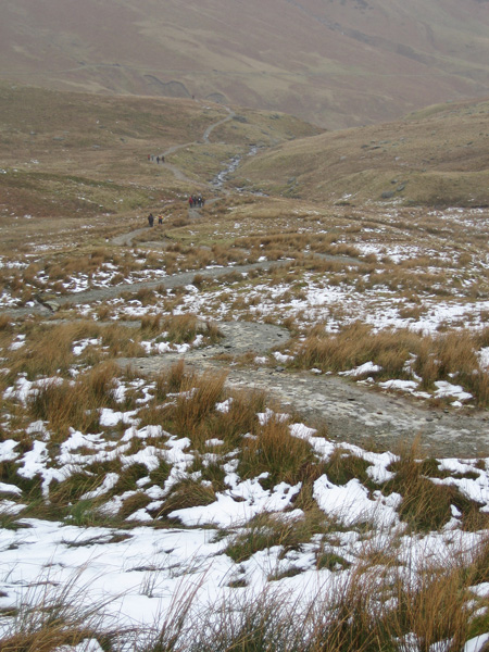 The Red Tarn Beck path