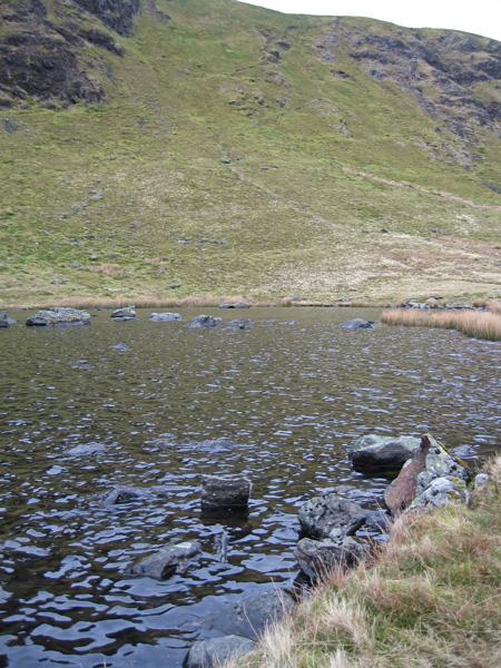 Bowscale Tarn and the way ahead