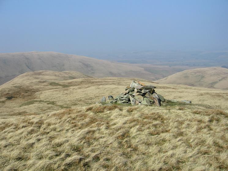 The cairn on Hunthoof Pike