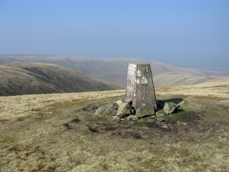 Green Bell's summit trig point