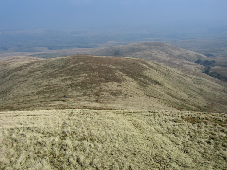 Looking down on Knoutberry from our descent off Green Bell
