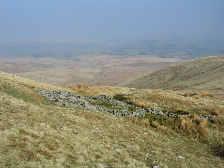 The sheepfold between Green Bell and Knoutberry