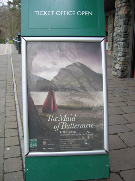 The Maid of Buttermere is now showing at the Theatre by the Lake