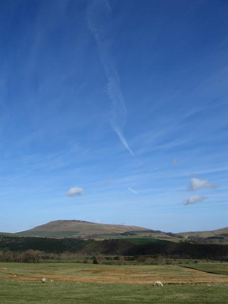 Blue skies above Binsey