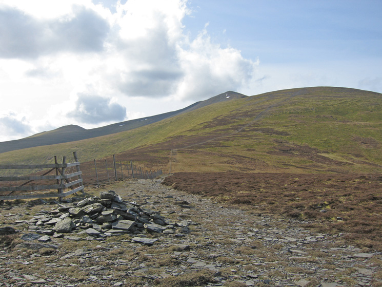 Skiddaw from Bakestall's summit