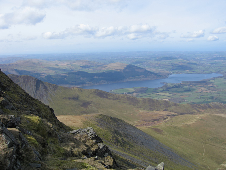 The Edge and the north end of Bassenthwaite Lake