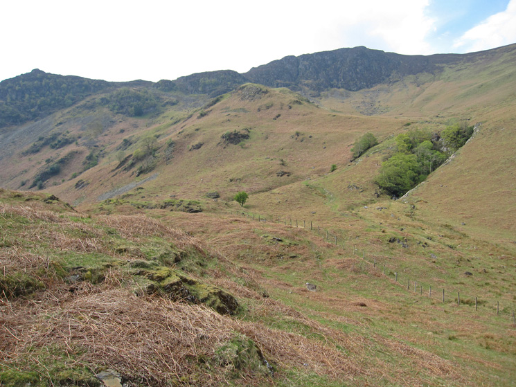 Nitting Haws on the left and Blea Crag on the right
