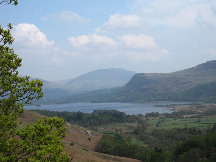 Derwent Water, Walla Crag and Blencathra